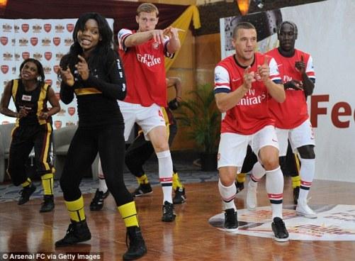 Arsenal Azonto