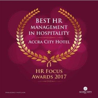 Accra City Hotel award HR