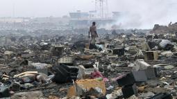 Agbogbloshie accra ghana e-waste