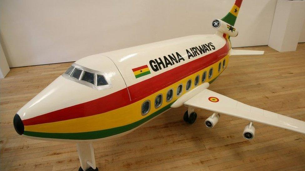 amazing accra ghana coffin plane