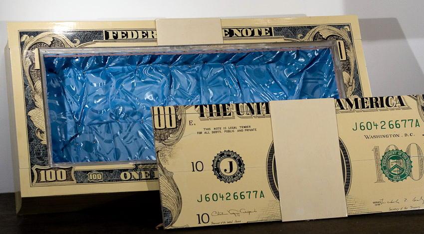 amazing ghana $100 Coffin