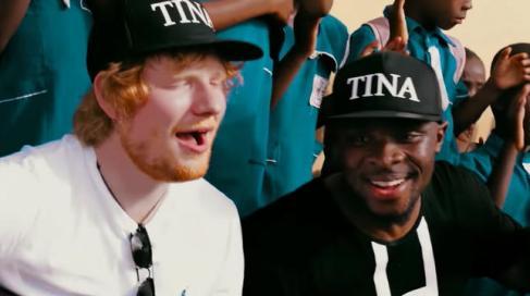 Ed Sheeran Accra Ghana