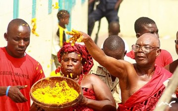 Ga People Accra HomowoFestivalGhana