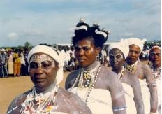 Ga People Accra women-in-white
