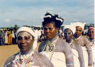 Ga People Accra women-in-white