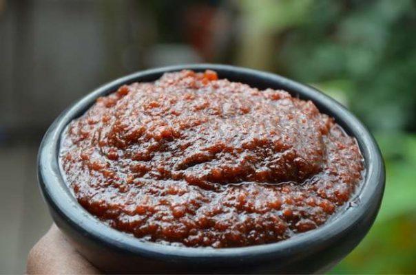 Ghanaian food Waakye spice