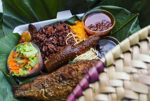 Ghanaian food Waakye Waakye