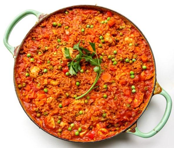 Ghanaian-jollof-rice-vegtables