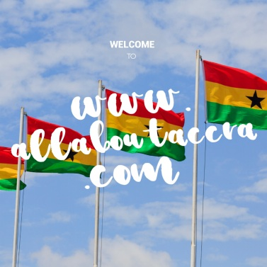 Yep it's all about Accra