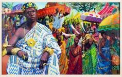 The Ashanti artist
