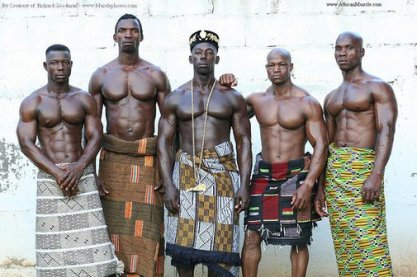 The Ashanti men