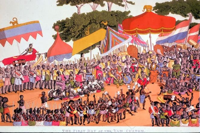 The Ashanti yam fesitval