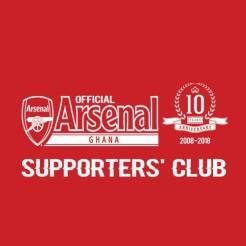Arsenal Suppot Ghana Accra