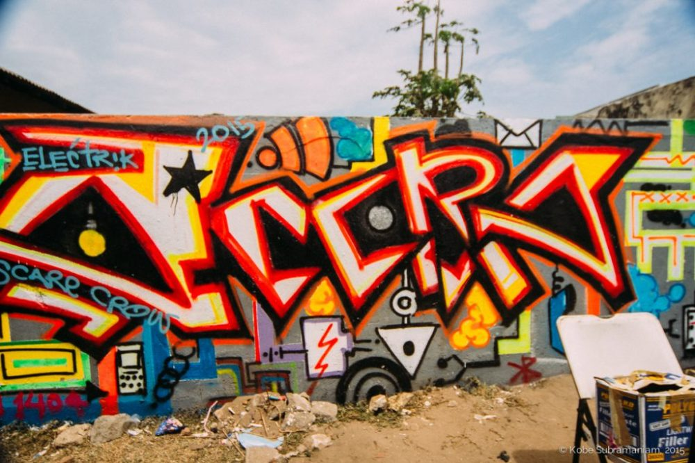 CHALE WOTE Street Art Festival from 2015