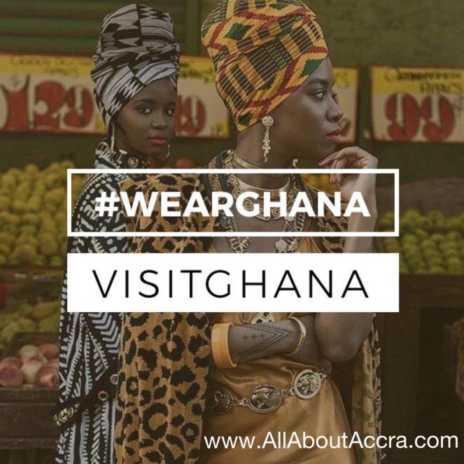 WearGhana as you SeeGhana, EatGhana, and FeelGhana, not only when you VisitGhana. Ghana Fashion is key to Ghana's economy and you can support Ghana by wearing Ghana. It is the Year of Return Ghana2019 #VisitGhana #WearGhana #SeeGhana #EatGhana