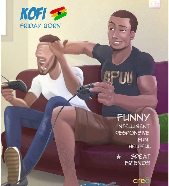 Ghanaian Boys Name Kofi