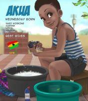 Ghanaian Names Akua