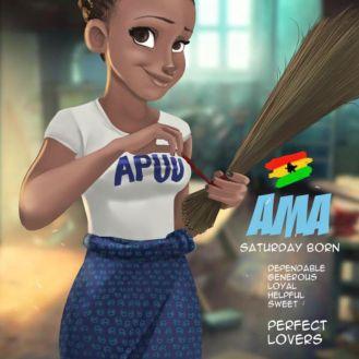 Ghanaian Names Ama