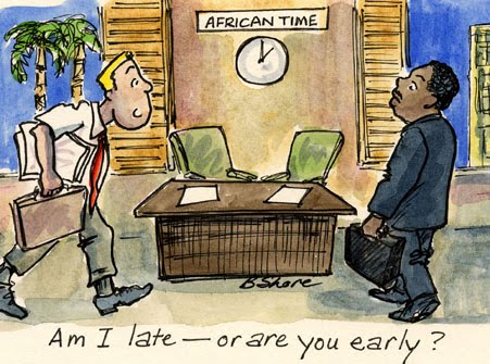 Ghanaian time africa time