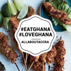 #EatGhana, a campaign in #Ghana by the Ghana Tourism Authority. #GoGhana #VisitGhana #SeeGhana #WearGhana #FeelGhana #VisitGhana #AllAboutAccra