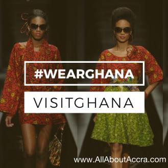 WearGhana as you SeeGhana, EatGhana, and FeelGhana, not only when you VisitGhana,