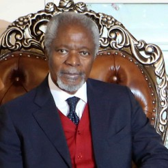 Kofi Annan accra