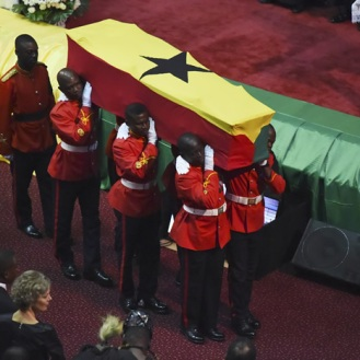 Kofi Annan funeral accra