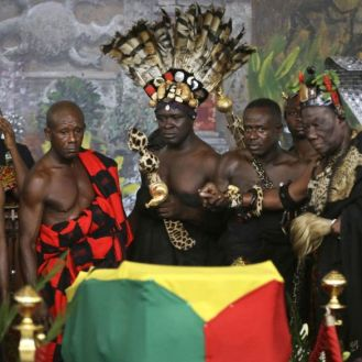 Kofi Annan funeral ghana elders