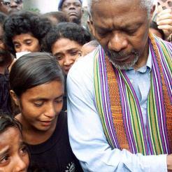 Kofi Annan kids