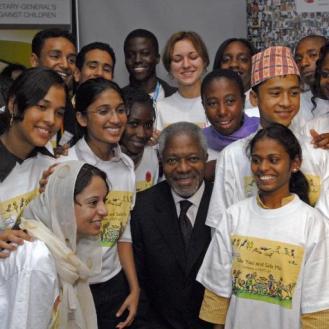 Kofi Annan unicef
