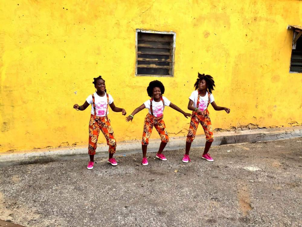 The Chale Wote Street Art Festival dance