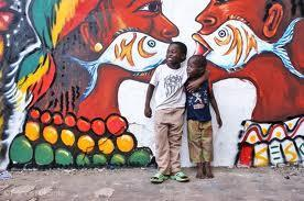 The Chale Wote Street Art Festival kids