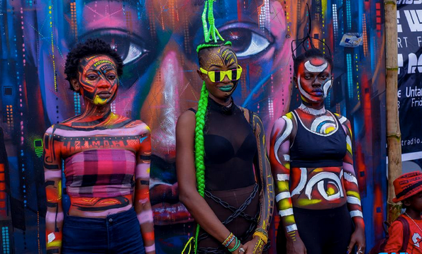 The Chale Wote Street Art Festival picture this