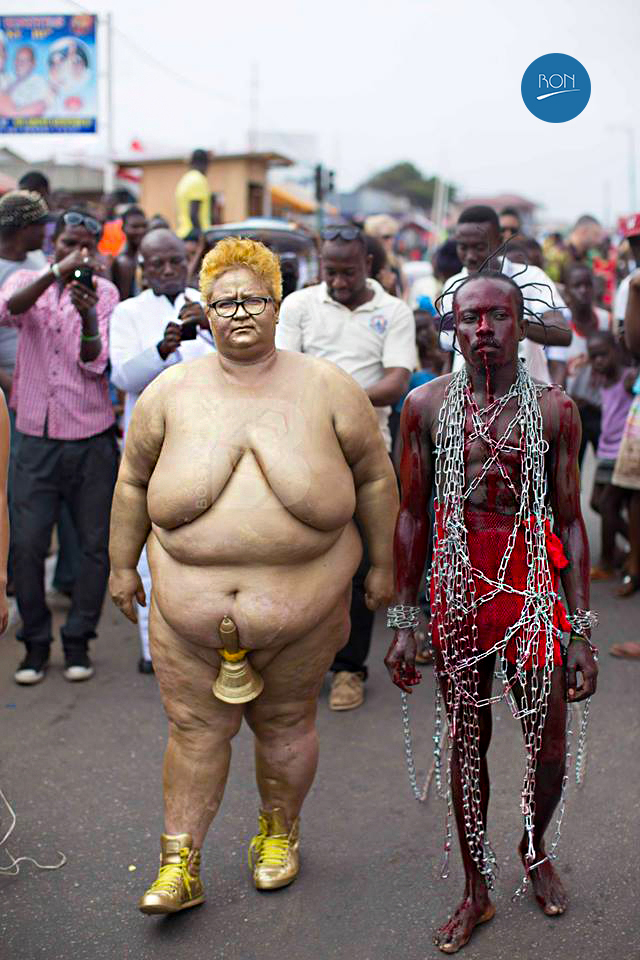 The Chale Wote Street Art Festival weird