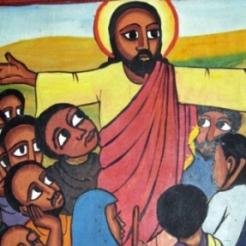 Ghanaian Jesus Christ black-jesus-teaching